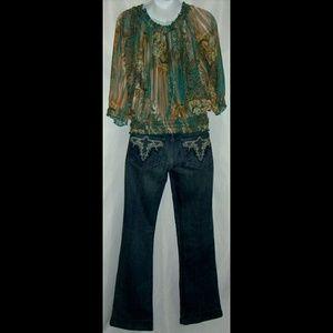 Antik Denim Jeans - Southwestern Clothing Bundle Turquoise Boho Antik